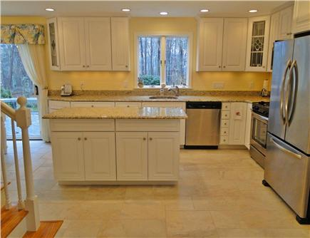 West Brewster/East Dennis Cape Cod vacation rental - Newly remodeled kitchen w/ stainless appliances, granite counters