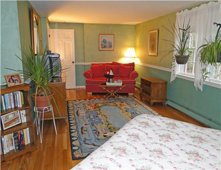 West Brewster/East Dennis Cape Cod vacation rental - Sitting area in Master bedroom