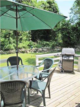 Brewster Cape Cod vacation rental - Grill, eat, drink and enjoy big back yard!