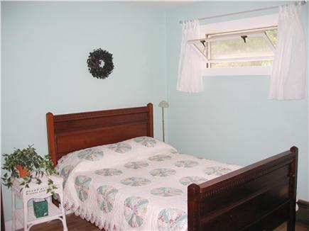 Brewster Cape Cod vacation rental - Adjacent queen bedroom, also cooled by ceiling fan & window A/C.