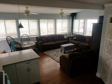 Plymouth MA vacation rental - Living Space with Ocean View
