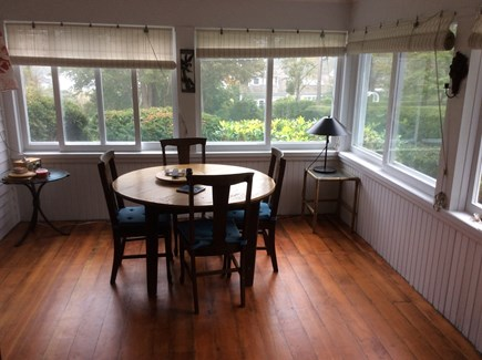 Cotuit Cotuit vacation rental - Screened porch - harbor views for dinner or for morning coffee.