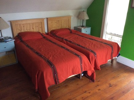 Cotuit Cotuit vacation rental - Large front bedroom with water views and daybed.