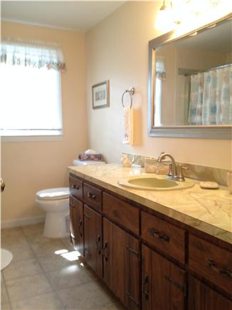 West Yarmouth Cape Cod vacation rental - Large full bath with plenty of storage