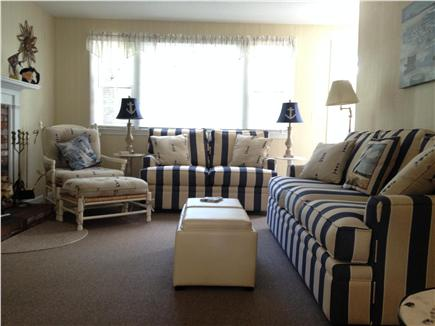 West Yarmouth Cape Cod vacation rental - Comfortable living room with flat screen TV