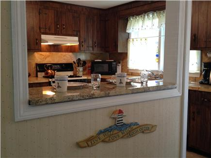 West Yarmouth Cape Cod vacation rental - Counter seating open to Dining room
