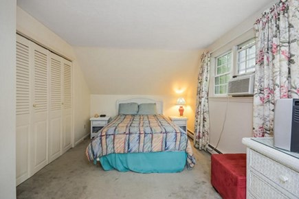 Centerville, Barnstable Centerville vacation rental - Master bedroom with balcony overlooking the pond