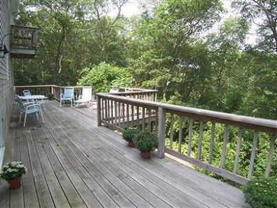Centerville, Barnstable Centerville vacation rental - 700 Sq. Ft. Wrap around deck with BBQ Grill and furniture.