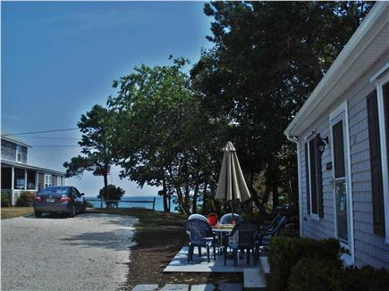 South Chatham Cape Cod vacation rental - View from Sand cottage patio