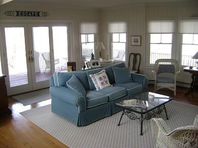 North Falmouth (Megansett) Cape Cod vacation rental - Living Room