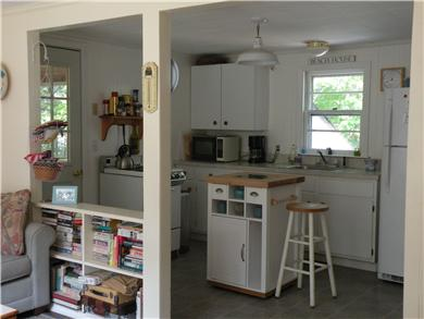 Eastham Cape Cod vacation rental - Fully equipped kitchen, stove, microwave, spices, tide clock.