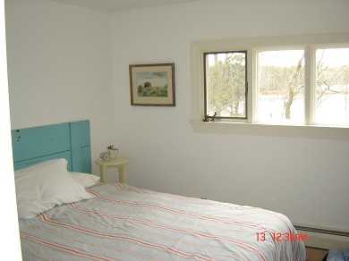 Harwich, MA Cape Cod vacation rental - The master bedroom has a pond view and queen bed.