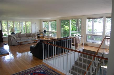 Woods Hole Woods Hole vacation rental - Sunny and very airy living room