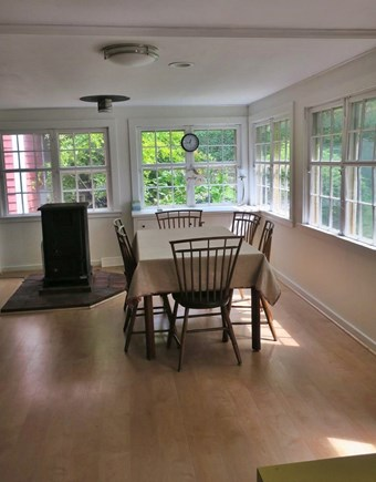 Woods Hole Woods Hole vacation rental - The large country kitchen displays the original Sear kit windows