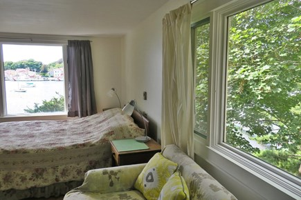 Woods Hole Woods Hole vacation rental - The master bedroom has nice views from all the windows.