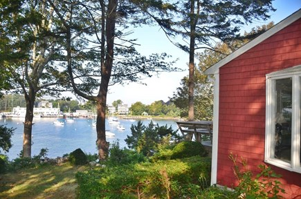 Woods Hole Woods Hole vacation rental - Outside the house with a view of Little Harbor.
