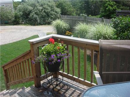 Chatham Cape Cod vacation rental - Dine out on the back deck