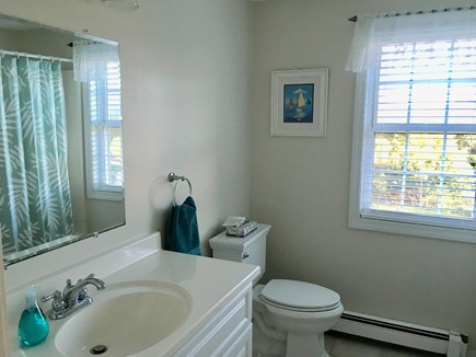 Chatham Cape Cod vacation rental - Upstairs bath with tub and shower