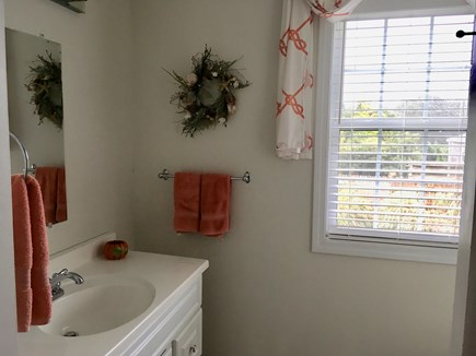 South Chatham Cape Cod vacation rental - Downstairs bath with walk-in shower