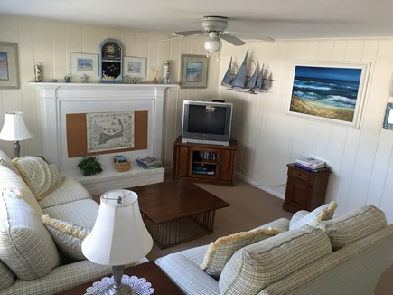 West Yarmouth Cape Cod vacation rental - Our bright and cheery living room