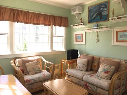 West Yarmouth Cape Cod vacation rental - Sun Room overlooking conservation land.