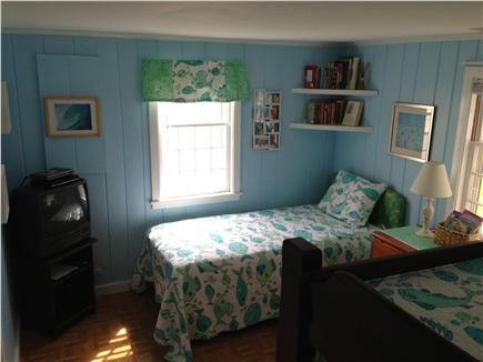 West Yarmouth Cape Cod vacation rental - Second Bedroom, for the beach lover, twin and bunkbed.