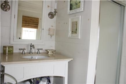 Dennis Bayside Cape Cod vacation rental - Bathroom with indoor shower
