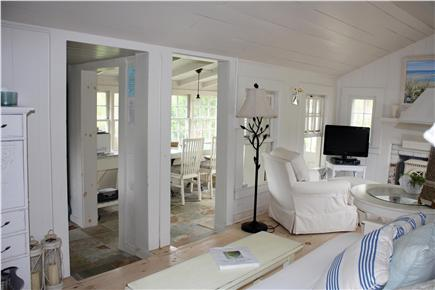 Dennis Bayside Cape Cod vacation rental - View from living room into dining area