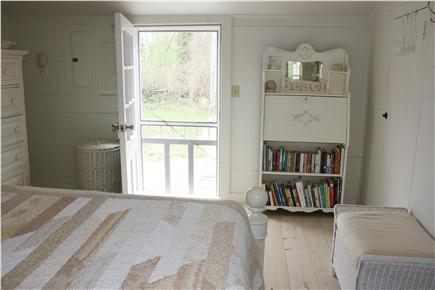 Dennis Bayside Cape Cod vacation rental - Freshly-painted antiques are scattered about the cottage