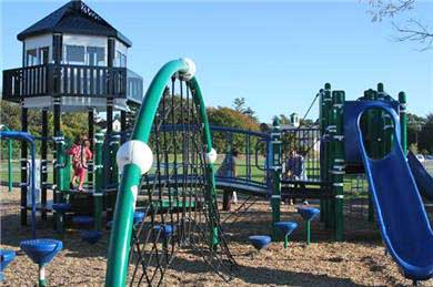 Downtown Chatham Cape Cod vacation rental - New Chatham playground less than a mile away and best on cape!