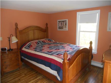Downtown Chatham Cape Cod vacation rental - Downstairs Queen Master Bedroom (now freshly painted)