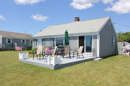 New Seabury, Popponesset Beach  New Seabury vacation rental - Sun deck overlooking Nantucket Sound
