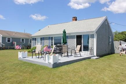 New Seabury, Popponesset Beach  New Seabury vacation rental - Sun deck overlooking Nantucket Sound