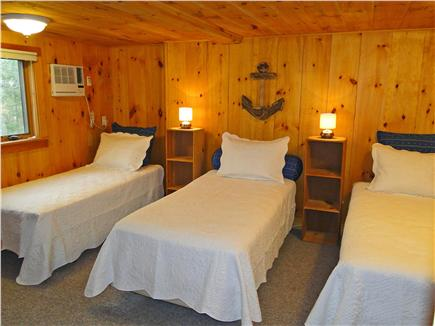 Brewster Cape Cod vacation rental - Three twin beds, great for kids!