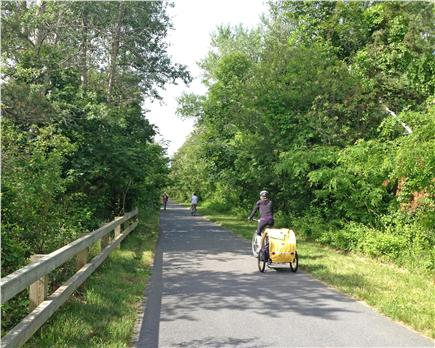 Brewster Cape Cod vacation rental - Bike Path passes the house and goes from Dennis to Provincetown