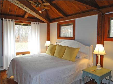 Brewster Cape Cod vacation rental - Master bedroom, king bed, adjacent to bathroom