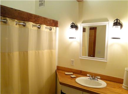 Brewster Cape Cod vacation rental - Newly refinished bathroom with tub