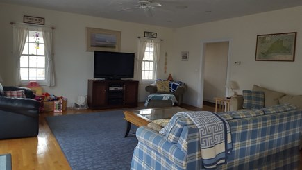 West Dennis Cape Cod vacation rental - Open Living Room