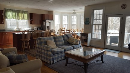 West Dennis Cape Cod vacation rental - Kitchen/Family Room