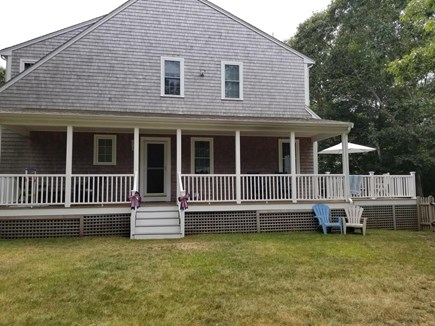 West Dennis Cape Cod vacation rental - Backyard and Farmers Porch