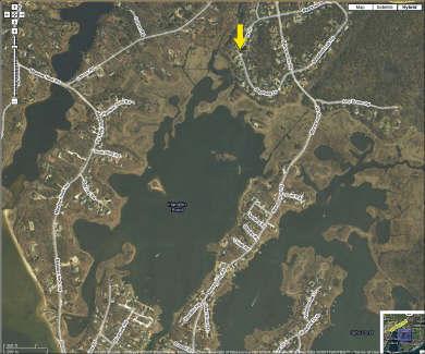 Mashpee Cape Cod vacation rental - Map of South Mashpee