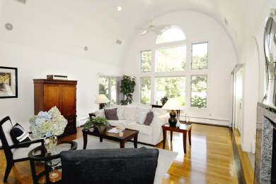 Mashpee Cape Cod vacation rental - Bright and beautiful living room