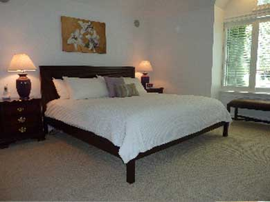 Mashpee Cape Cod vacation rental - First Floor Master Bedroom with private bath
