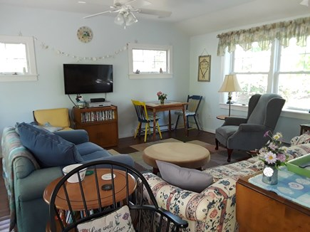 Eastham, Great Pond Area Cape Cod vacation rental - Comfortable living room with HDMI flat screen.