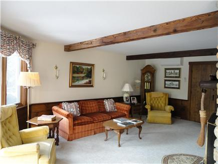 Chatham Cape Cod vacation rental - Entering Living Room from kitchen/family room.