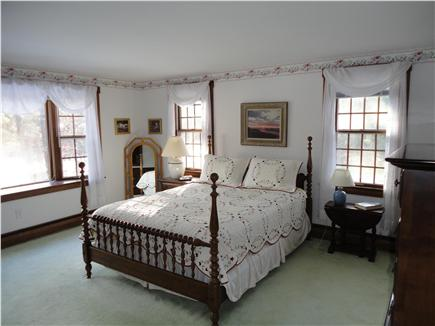 Chatham Cape Cod vacation rental - Master Bedroom,  Has adjoining bath & walk-in closet.