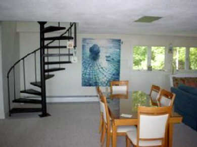 Falmouth Cape Cod vacation rental - Living Room, puzzle area, kids dining