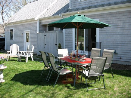 Brewster Cape Cod vacation rental - Backyard is Partially Fenced