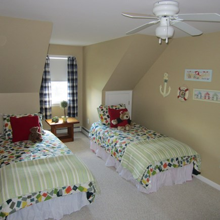 Brewster Cape Cod vacation rental - Twin Bedroom - with an additional third twin bed