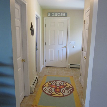 Brewster Cape Cod vacation rental - Hallway with Custom Designs